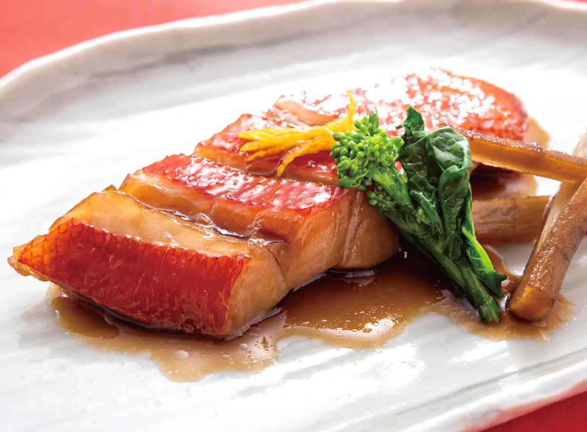 本日の煮魚 金目鯛煮付け(冷凍タイプ)