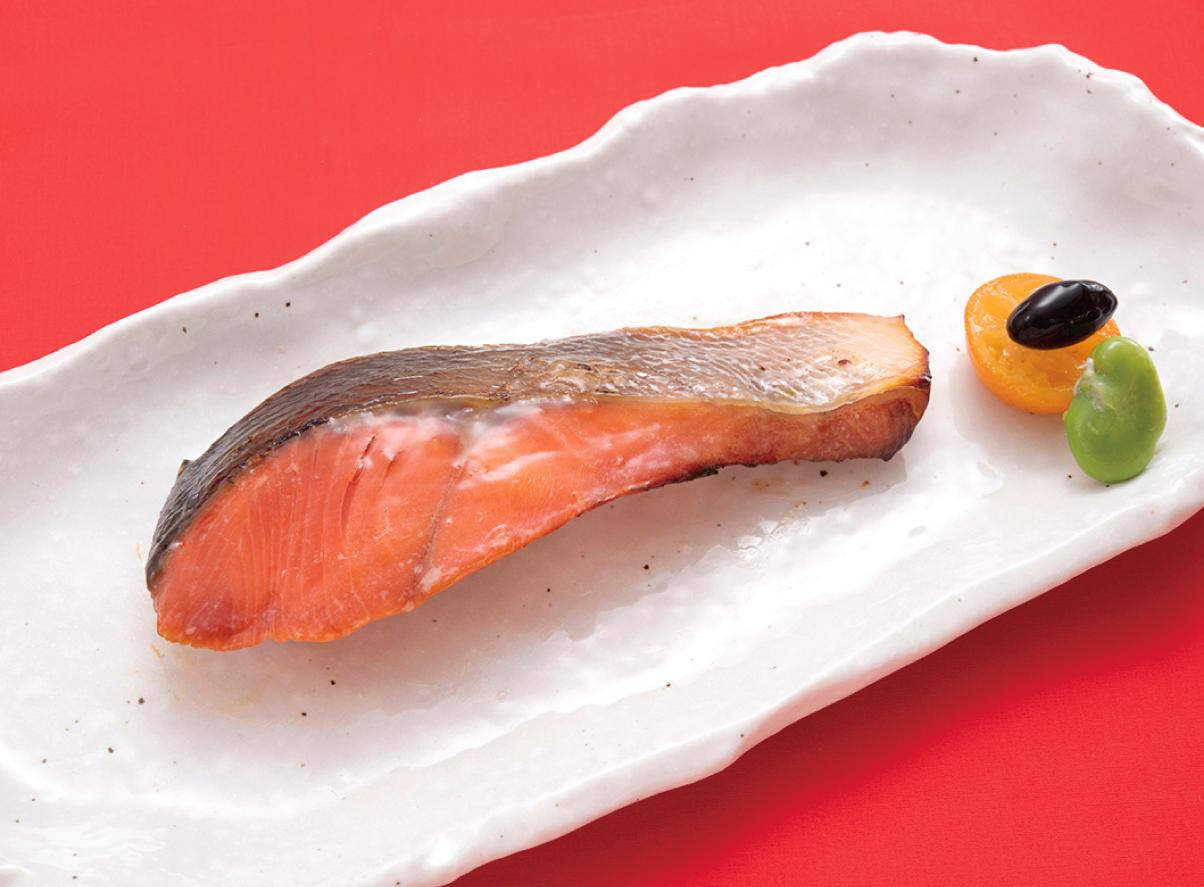 本日の焼魚 紅鮭西京焼き