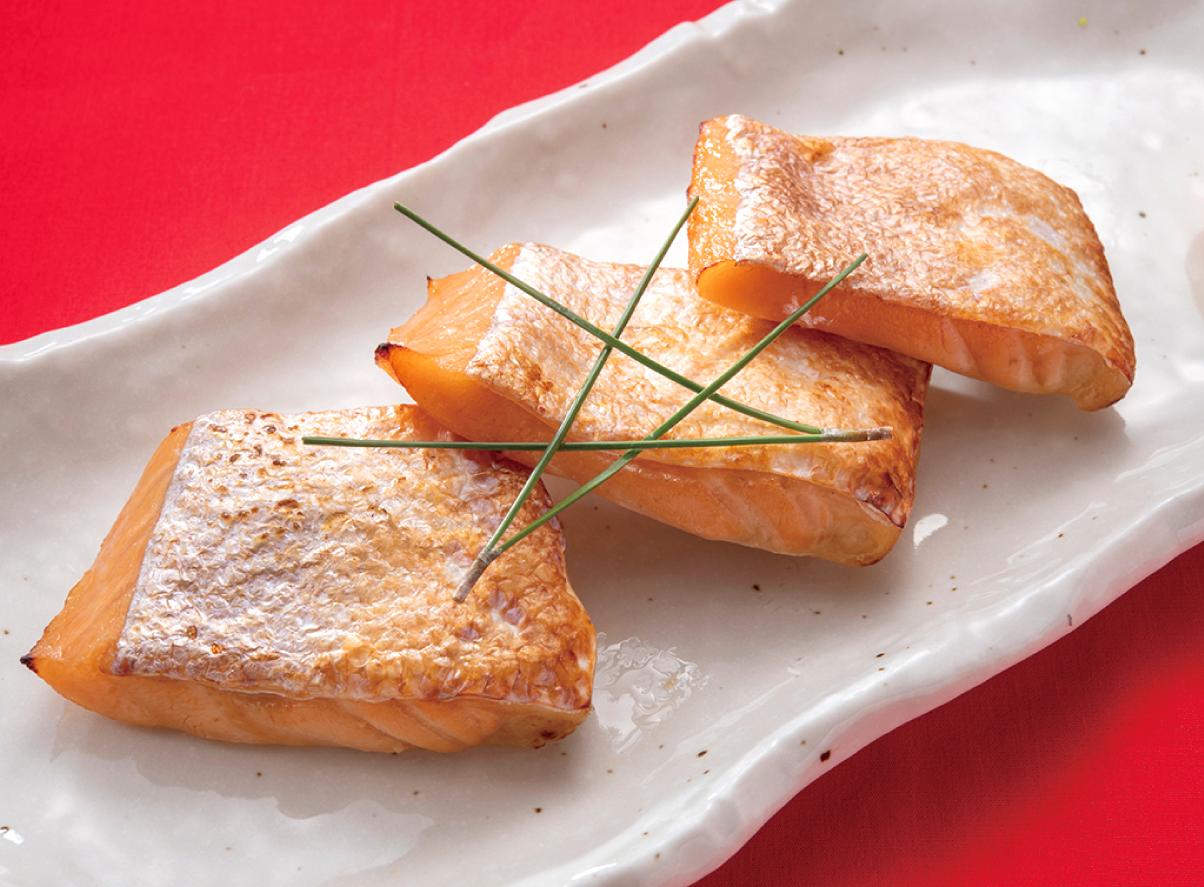本日の焼魚 鮭ハラス塩麴焼き(冷凍タイプ)