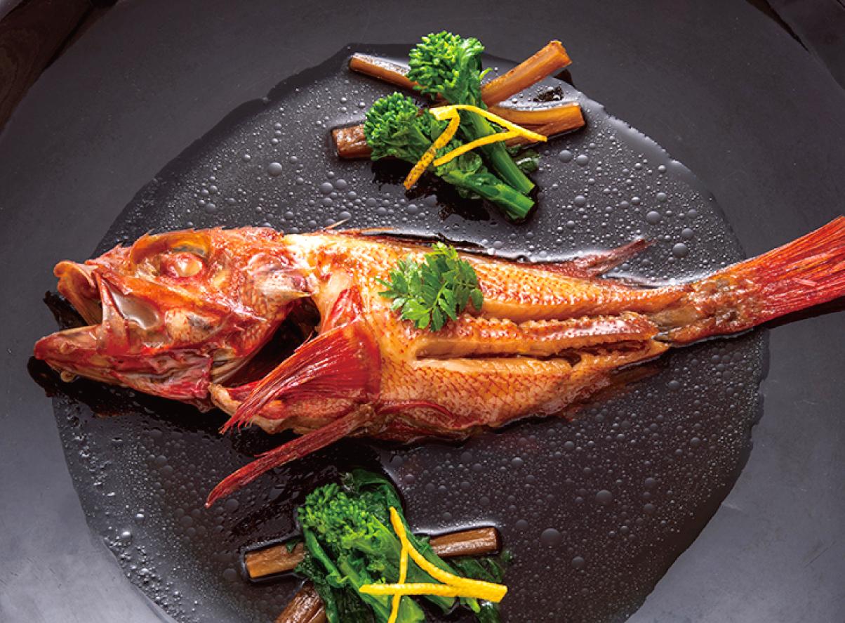 本日の煮魚 きんき姿煮